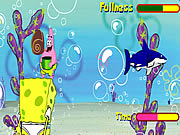 Sponge Bob Shell Throwing