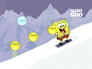SpongeBob Snowboarding in Switzerland