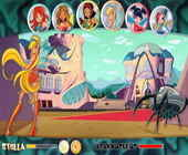 Winx attack to magix